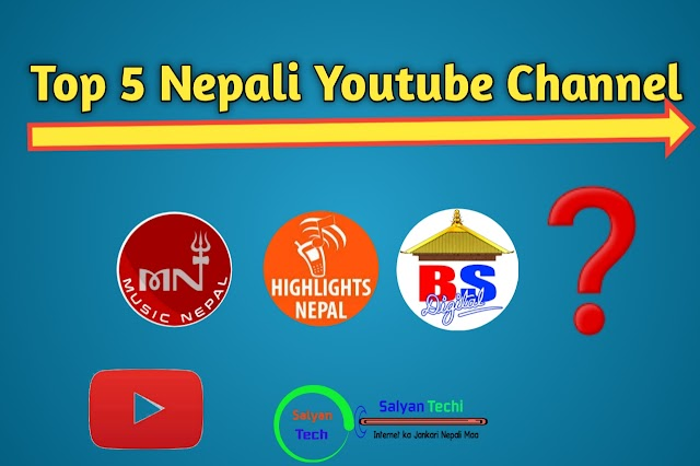 Top 5 Nepali Youtube channel With Subscribe Count