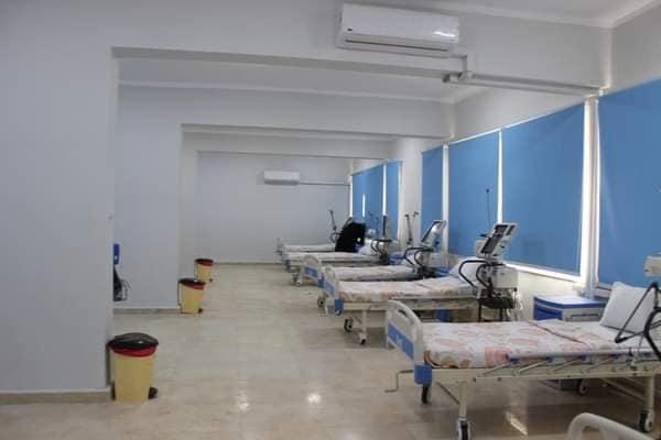 وزير التعليم العالي يفتتح دار العزل الصحي لمستشفى سعاد كفافي