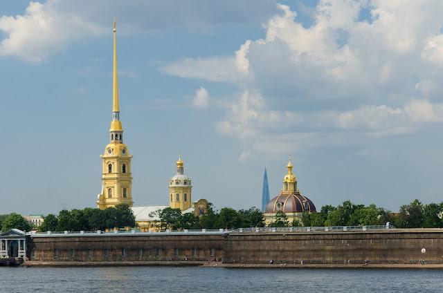 Петропавловская крепость. Санкт-Петербург