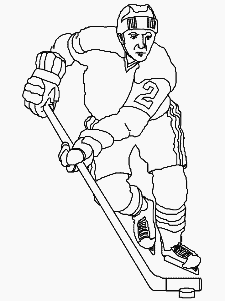 Download Sports Coloring Pages To Print