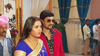 kajal raghwani sanjay pany shoot aashiq aawara film 2.jpg