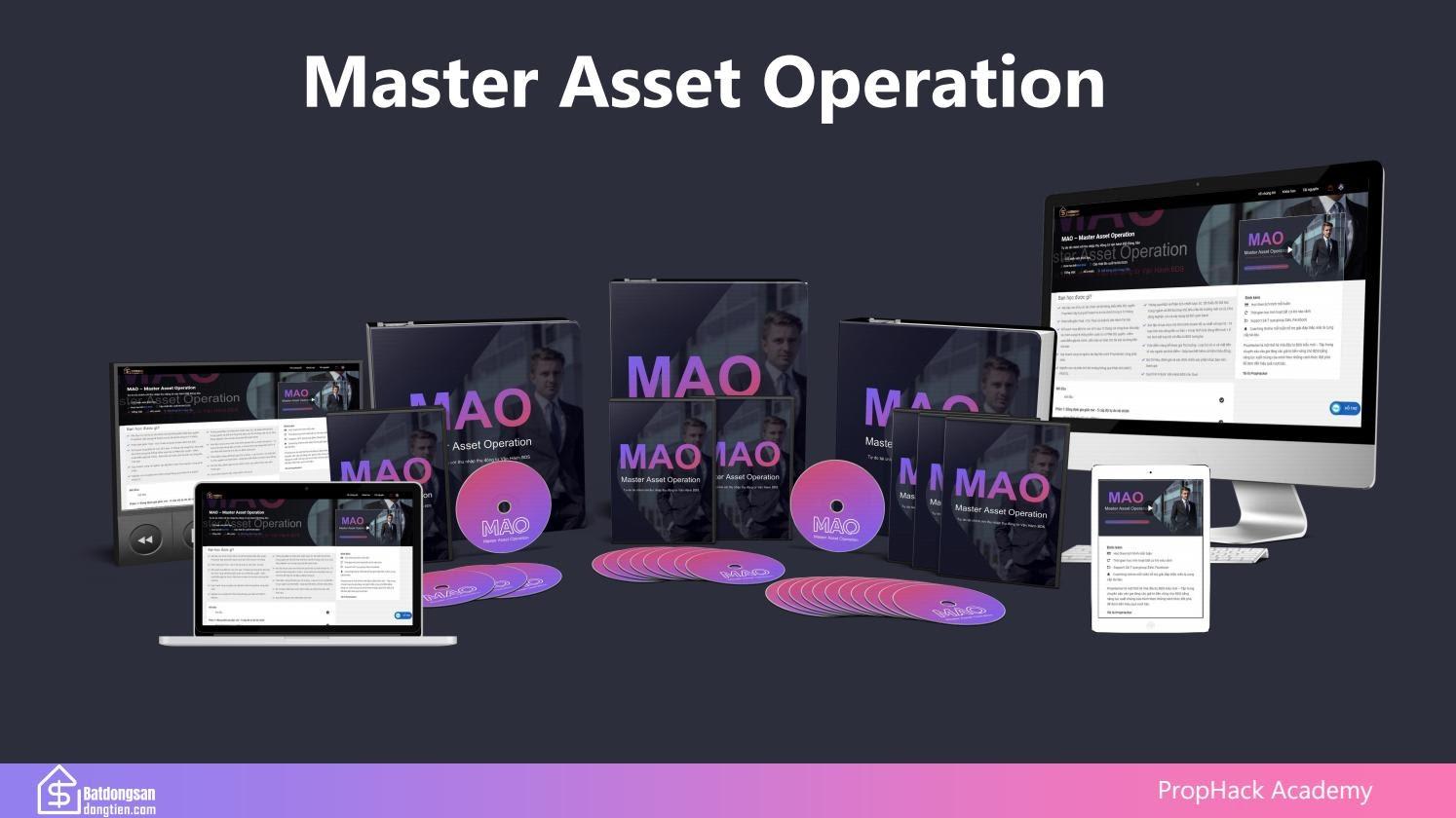 Share khóa học  MAO - Master Asset Operation - Tự do tài chính với thu nhập thụ động từ Vận Hành Bất Động Sản