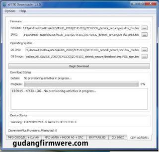 Cara Atasi Asus Zenfone C Z007 Tidak Bisa Masuk Droidboot