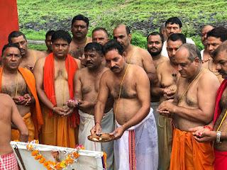 सर्व ब्राह्मण समाज द्वारा स्वतंत्रता दिवस एवं श्रावणी पर्व मनाया
