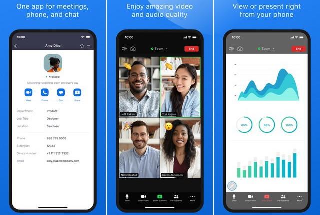 ZOOM-Cloud-Meetings - تطبيقات التعليم عن بعد