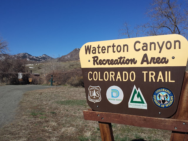 Waterton Canyon Trailhead