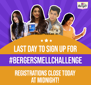 Berger Smell Challenge