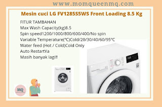 Fitur tambahan LG FV1285S5WS series