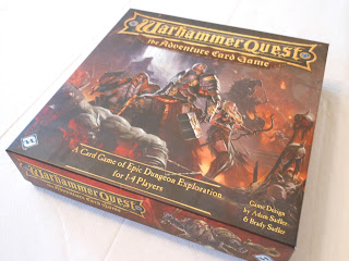 The box for Warhammer Quest: The Adventure Card Game