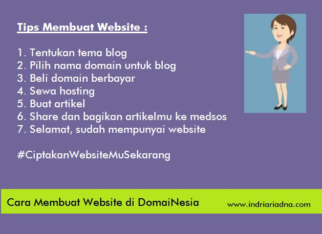 tips membuat website