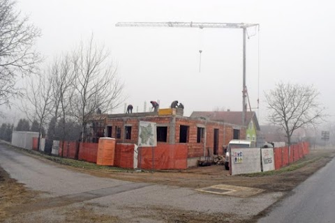 Már állnak az új kopácsi óvoda falai