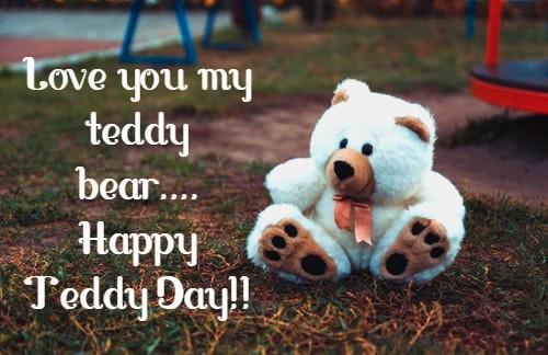 Happy Teddy Day Photo for whatsapp