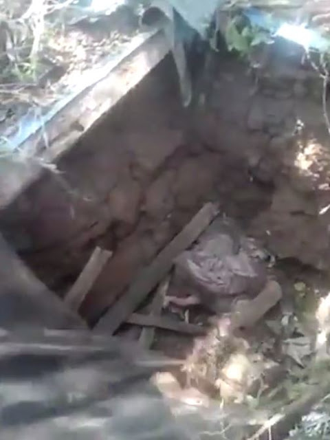 A Baby Miraculously Survived After Being Buried Alive In A Septic Tank!
