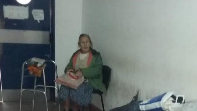 Бабушку вышвырнула из дома собственная дочь - и теперь она и спит в больнице