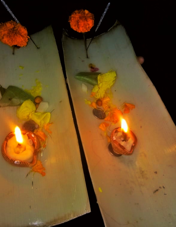 Boita Bandana and Kartika Purnima Osha Danga bhasa for panchaka by Aprita Singh