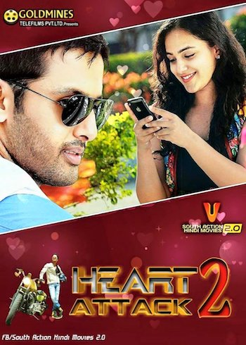 Heart Attack 2 (2018) HDRip UNCUT 720p Dual Audio Hindi 1.2GB