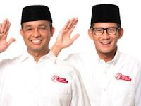Selamat !!! Gubernur dan Wakil Gubernur DKI Terpilih ANis Basweedan - Sandiago Uno
