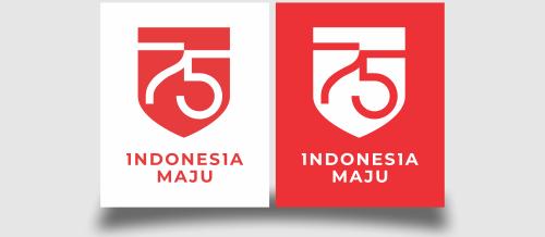Logo HUT kemerdekaan RI ke 75 tahun 2020 format vector coreldraw