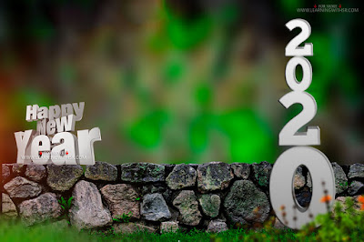happy new year photo editing background picsart 2020