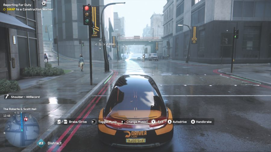 Driver San Francisco app from Watch Dogs 2