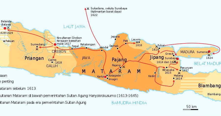 Sejarah Kerajaan Islam Di Jawa (Demak, Pajang, Mataram ...
