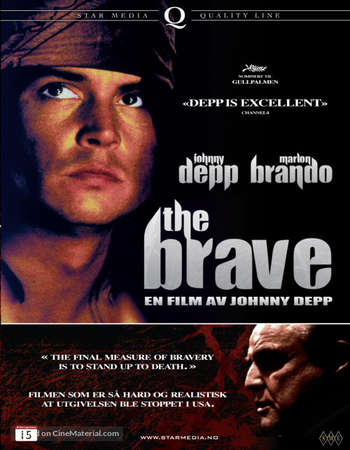 Poster Of The Brave 1997 English 350MB BRRip 480p ESubs Watch Online Free Download downloadhub.net