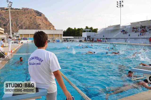 Στη μάχη του Πανελληνίου Πρωταθλήματος Υδατοσφαίρισης Εφήβων ο Ναυτικός Όμιλος Ναυπλίου