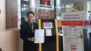 Kombes PoL (Purn) DR. Zaidan, SH.,MH Laporkan Kasus Plasa Tamansari ke KPK RI