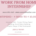Work From Home Internships