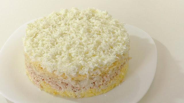 Салат Невеста рецепт-картинка