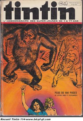 Recueil Tintin 114