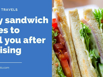 3 easy sandwich recipes to refuel you after exercising