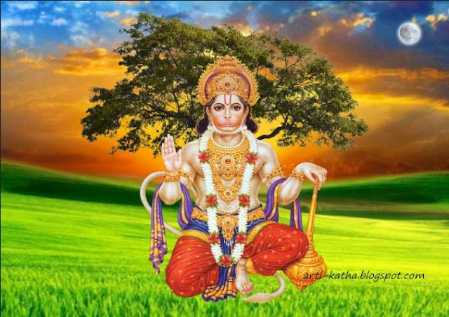 Hanuman Bhagwan God of Tuesday and Saturday