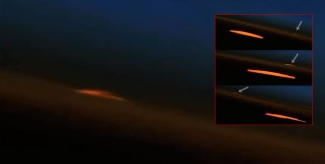 Fast moving V-shaped UFO caught on NASA live stream  V-shaped-ufo-nasa-iss-live-stream