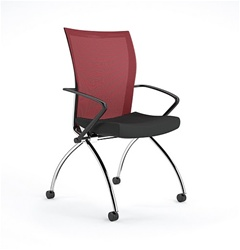 Valore flip seat training room chair