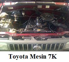 Toyota mesin kijan 7K
