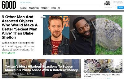 Liberal websites absorb/process the Al Franken news, part 3: Good.