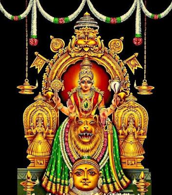 ശ്രീമൂകാംബികാഷ്ടകം നമസ്തേ ജഗദ്ധാത്രി Mookambika Ashtakam Malayalam Lyrics