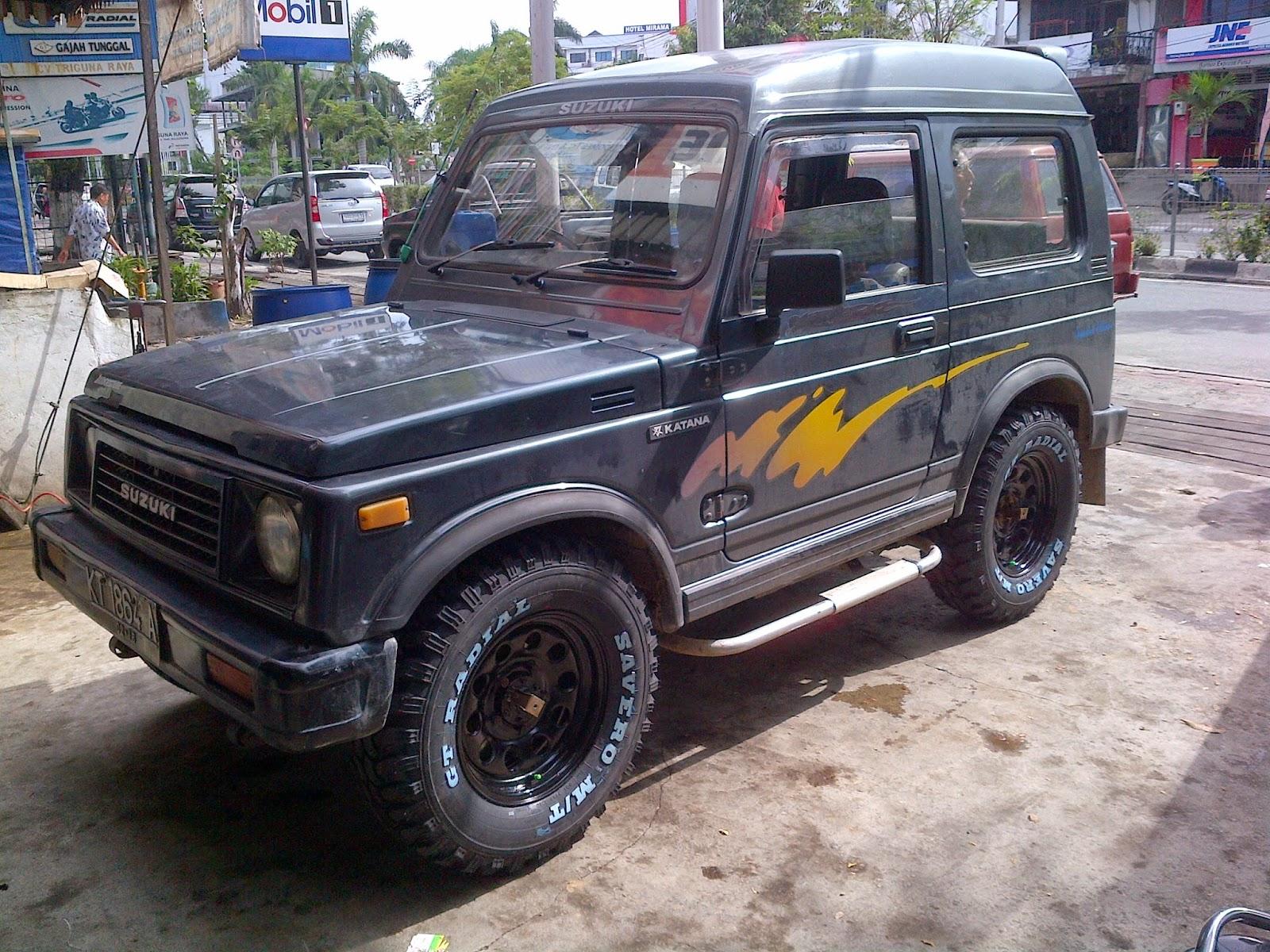 Suzuki Katana Modifikasi Dijual