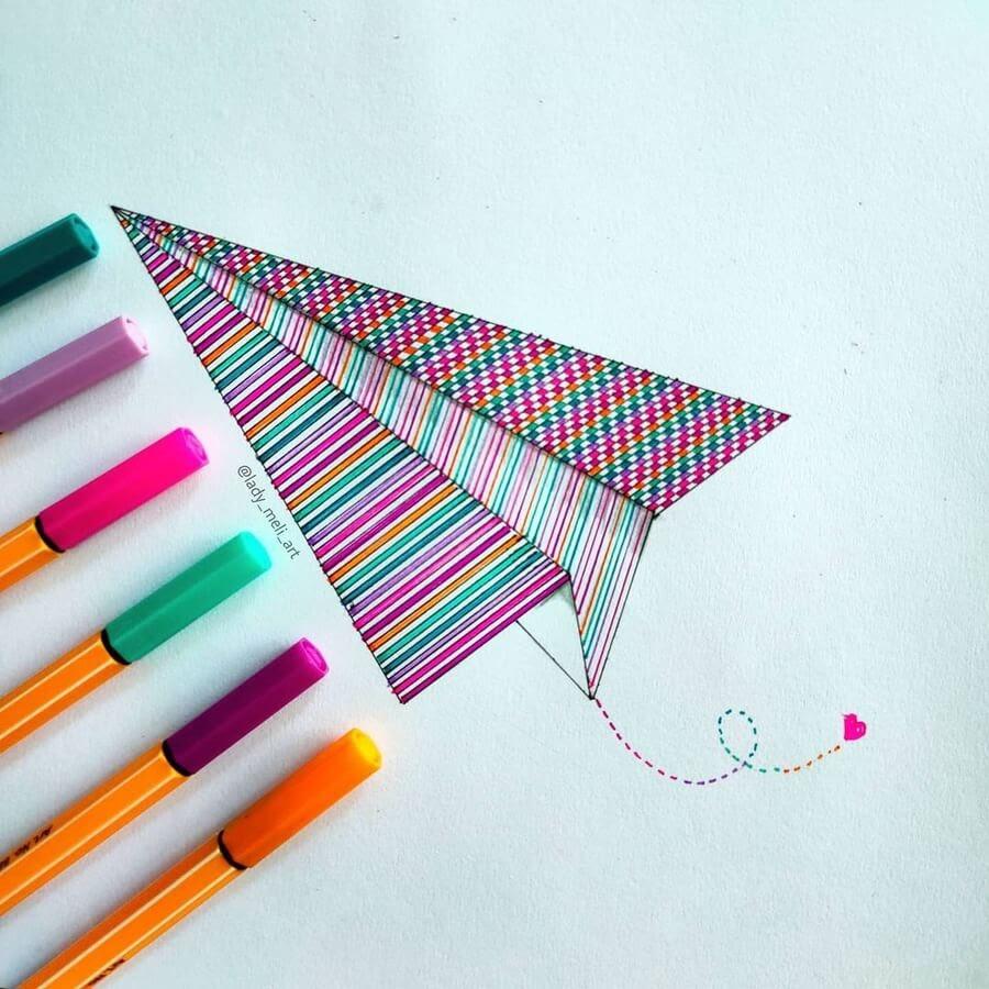 07-A-paper-aeroplane-lady_meli_art-www-designstack-co