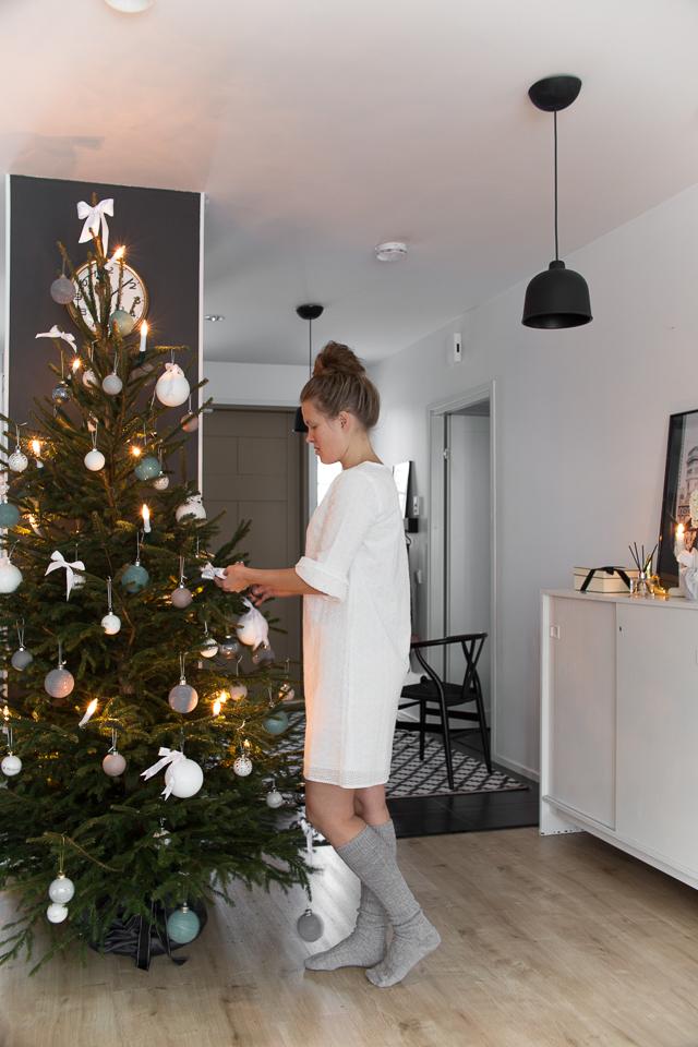 Villa H, joulukuusi, joulu, ideoita jouluun, sisustus,
