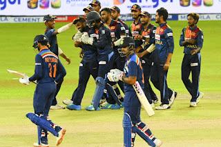 Sri Lanka vs India 3rd T20I 2021 Highlights