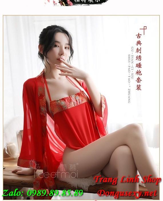 Đồ lót sexy cô dâu cổ trang Trumg Quốc 13