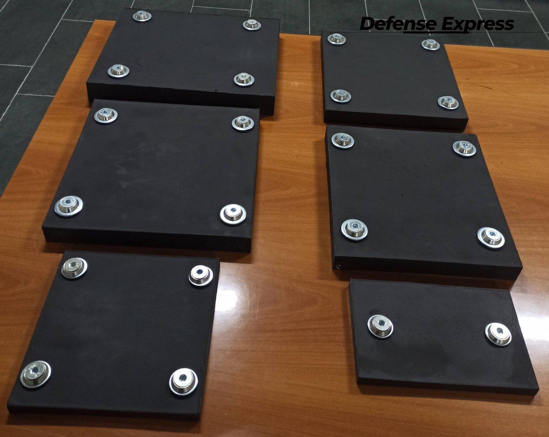 керамополімерні композитні бронепанелі