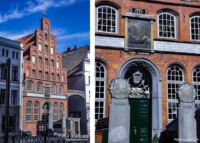 Schiffersgesselchaft, liga dos armadores de Lübeck, Alemanha