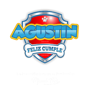 Logo de Paw Patrol: Agustín