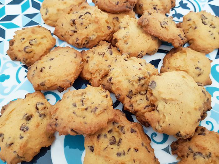 Cookies aux pépites de chocolat blog nimoise nimes 5