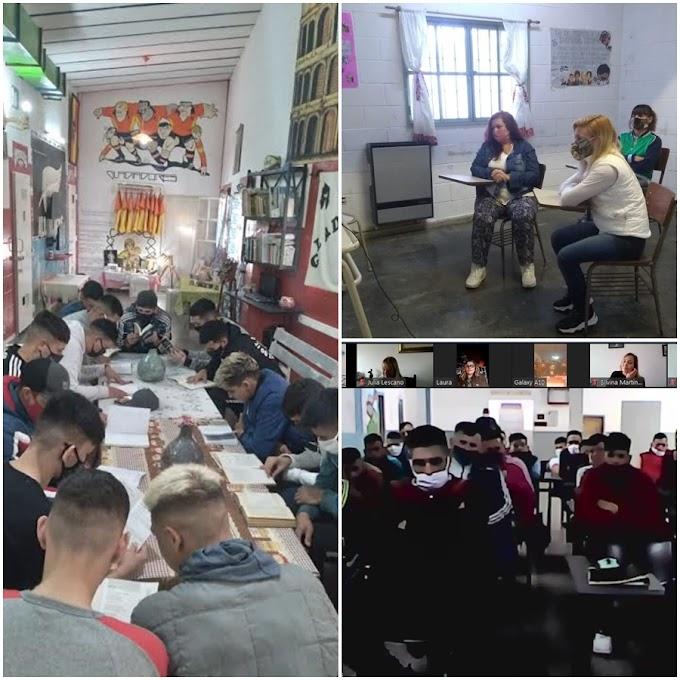 """Primer encuentro provincial del programa """"Pabellones literarios para la libertad"""": participaron más de 2.000 internos"""