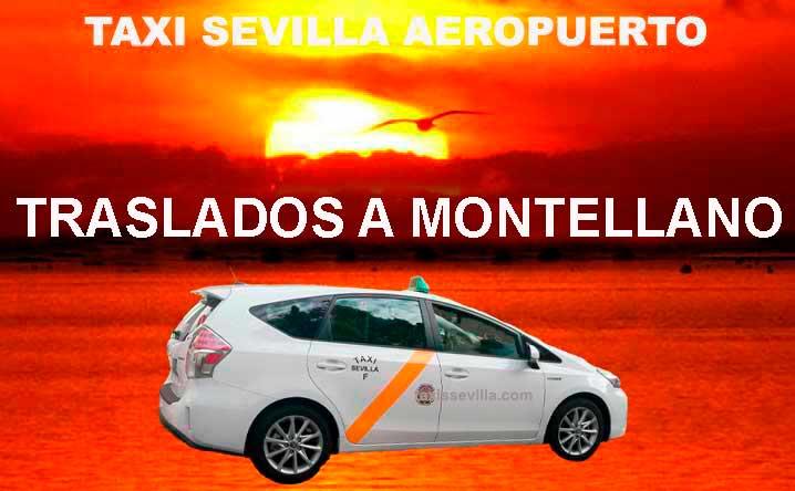 ¿Cuánto cuesta un taxi de Sevilla a Montellano?