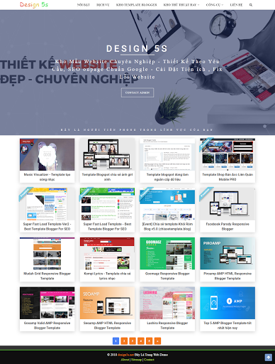 Free Template Blogger Landing Page Dịch Vụ Chia Sẻ Template